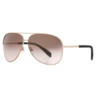 MARC BY MARC JACOBS Aviator MMJ 484/S Unisex J5G QH Gold Brown Gradient Mirrored Sunglasses - 63mm-11mm-135mm