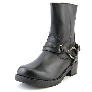 Harley Davidson Christa Women Leather Black Motorcycle Boot