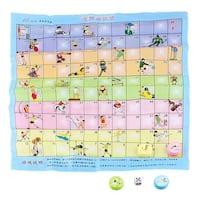 Child Brain Training Plastic Chessman Sports Game Chess Play Toy Gift Set