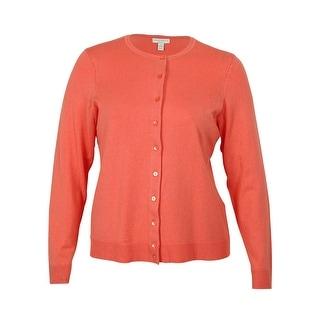 Charter Club Women's Button-Down Cardigan-Sweater - 0X