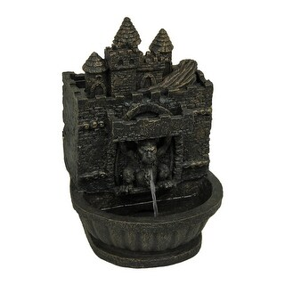 Bronze Finished Gothic Gargoyle Table Fountain 11 1/2 Inches Tall