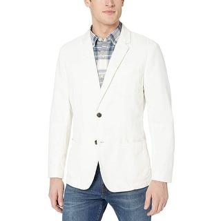 Link to Goodthreads Men's Standard-Fit Linen Blazer, Ivory, X-Large Similar Items in Sportcoats & Blazers