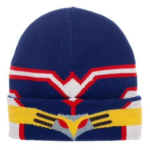 My Hero Academia All Might Beanie Hat - Blue