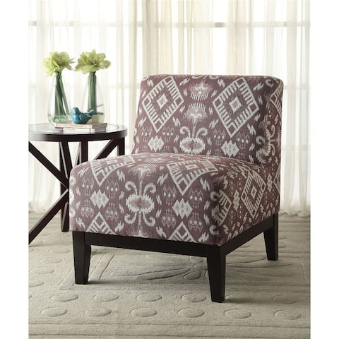 AOOLIVE Hinte Accent Chair in Pattern Fabric,Transitional Style