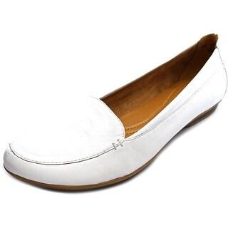 Naturalizer Saban Round Toe Leather Loafer