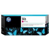 HP 745 300-ml DesignJet Magenta Ink Cartridge (F9K01A)(Single Pack)