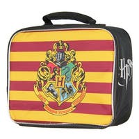 Harry Potter Hogwarts Crest Insulated Lunch Box Tote Bag
