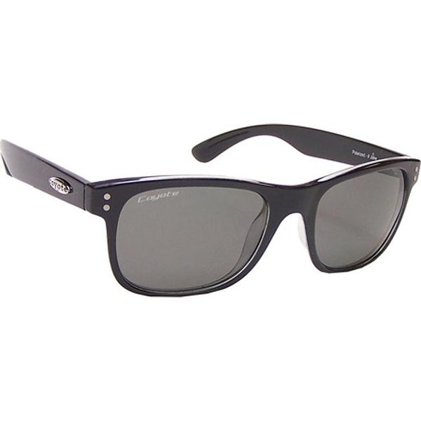 cd3d064d21ef Shop Coyote Eyewear Jake Polarized Sunglasses Black Gray - US One Size  (Size None) - On Sale - Free Shipping Today - Overstock.com - 12735152