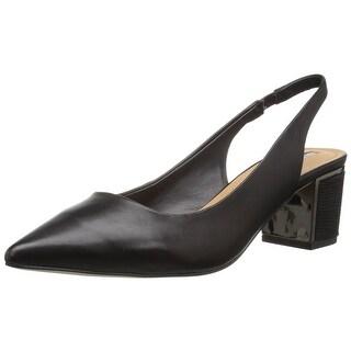 Tahari Womens Roseann Pointed Toe SlingBack Classic Pumps