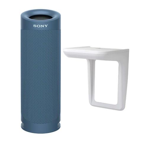Sony SRSXB23 EXTRA BASS Bluetooth Portable Speaker (Blue) Bundle