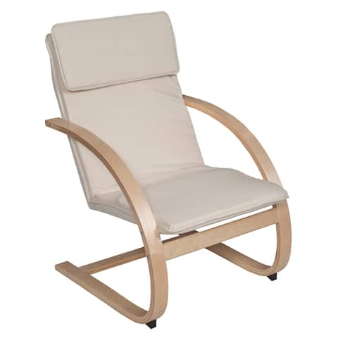 Noble Myra Reclining Chair- Natural/ Beige