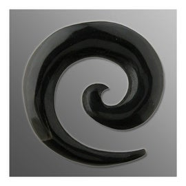 Organic Buffalo Horn Spiral Taper (Sold Individually)