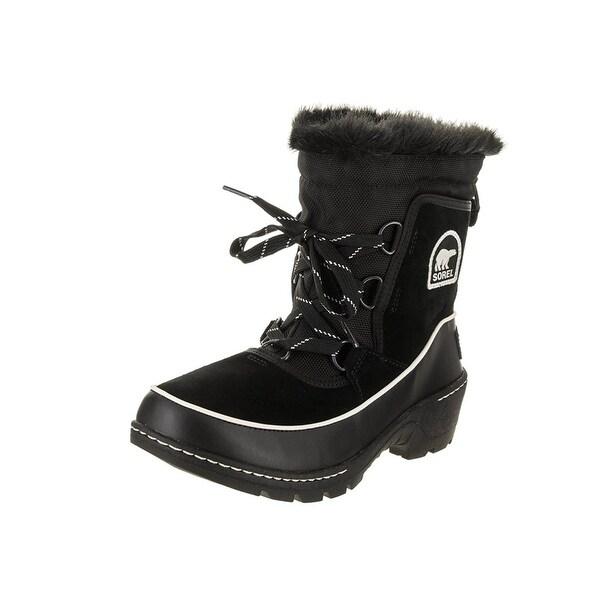 SOREL Womens Tivoli III Leather Closed Toe Ankle Cold Weather Boots