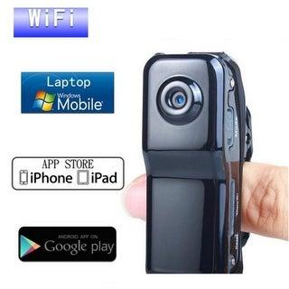 Mini Wi-Fi P2P Spy Camera Clip-on Style Sound Activated Wireless