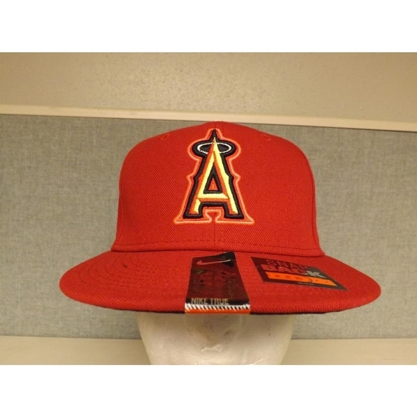 80e1caab Shop Los Angeles Angels Mens Osfa Nike Snapback Flatbrim Cap Hat $32 - On  Sale - Free Shipping On Orders Over $45 - Overstock - 23072219