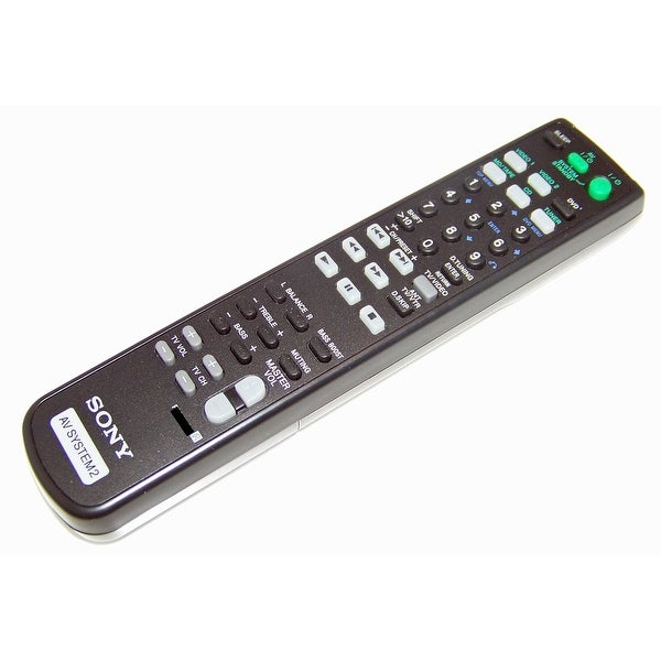 OEM Sony Remote Control Originally Shipped With: STRDE197, STR-DE197