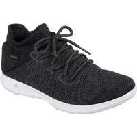 Skechers Women's GOwalk Lite Rise Sneaker Black/White