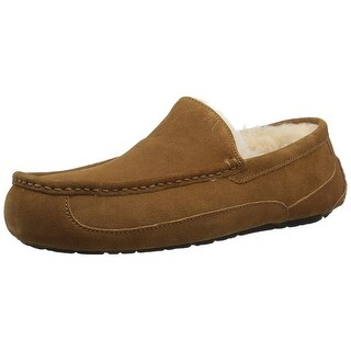 Ugg Mens Ascot Suede Closed Toe Slip On Slippers