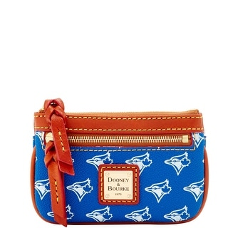 Dooney & Bourke MLB Bluejays Small Coin Case (Introduced by Dooney & Bourke at $58 in Jan 2016)