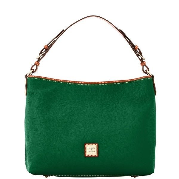 Dooney & Bourke Pebble Grain Large Courtney Sac (Introduced by Dooney & Bourke at $298 in Sep 2016) - Ivy