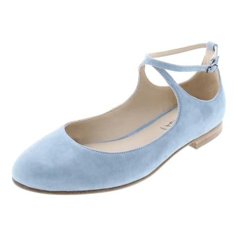 Via Spiga Womens Yovela Ballet Flats Criss-Cross Front