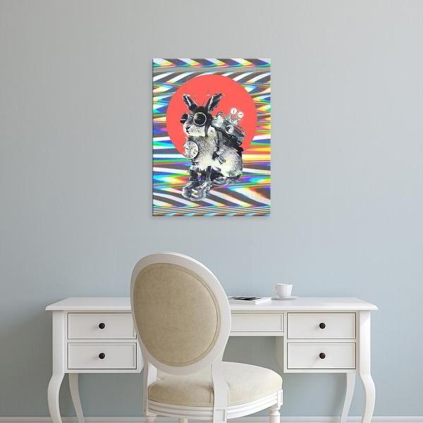 Easy Art Prints Ali Gulec's 'Time Traveler' Premium Canvas Art
