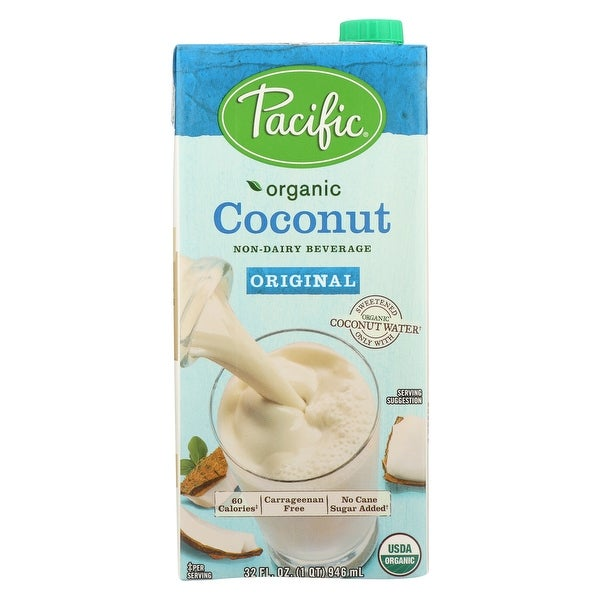 Pacific Natural Foods Coconut Original - Non Dairy - Case of 12 - 32 Fl oz.