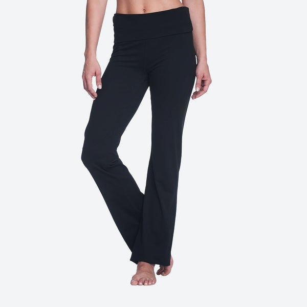 2546645a662 Shop Gaiam Women s Om Nova Bootcut Yoga Pant Size Medium Black - m (8 - 10)  - On Sale - Free Shipping On Orders Over  45 - Overstock.com - 22986785
