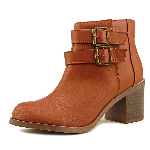 Michael Antonio Bellow Women Cognac Boots