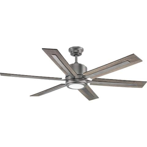 "Glandon Collection 60"" Six Blade Ceiling Fan - 9.870"" x 25.620"" x 13.750"""