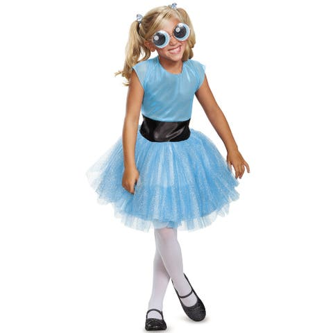 Disguise Bubbles Tutu Deluxe Child Costume - Blue