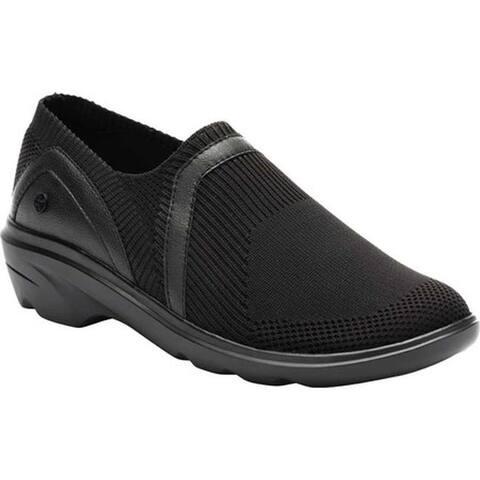 Klogs Women's Evolve Slip-On Sneaker Black/Black Knit