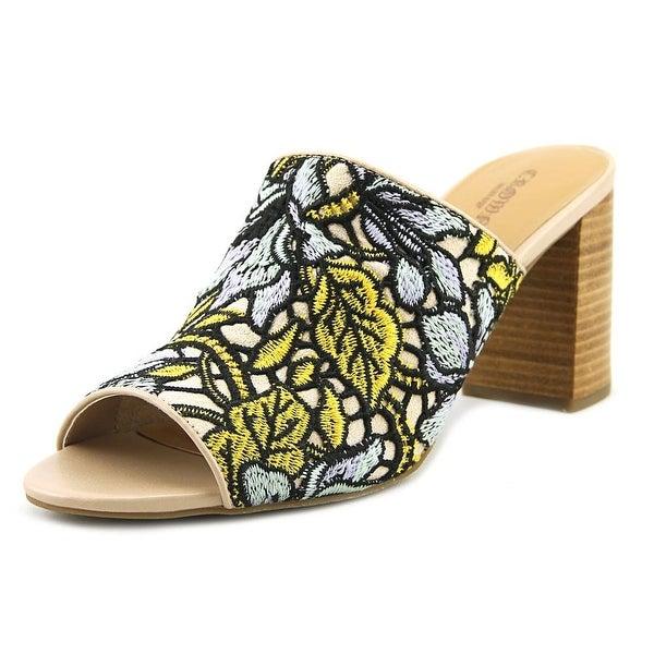 Crown Vintage Clara Women Open Toe Canvas Multi Color Sandals