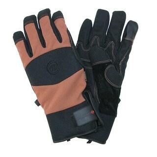 Manzella Men's Ranch Hand Touch Screen Work Gloves