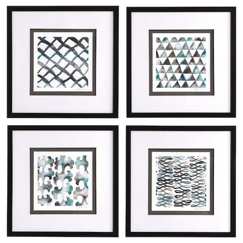 Uttermost La Mer Framed Prints (Set of 4)