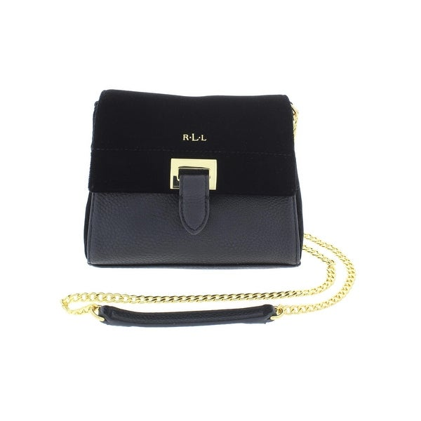 331101444acc Lauren Ralph Lauren Womens Carlisle Crossbody Handbag Velvet Mini - small