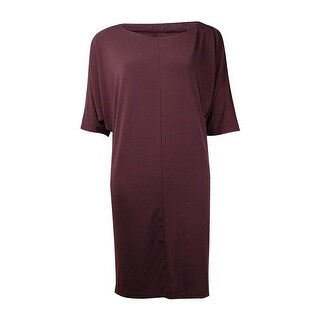 Bar III Women's Dolman Sleeve Stretchy Jersey Dress - s