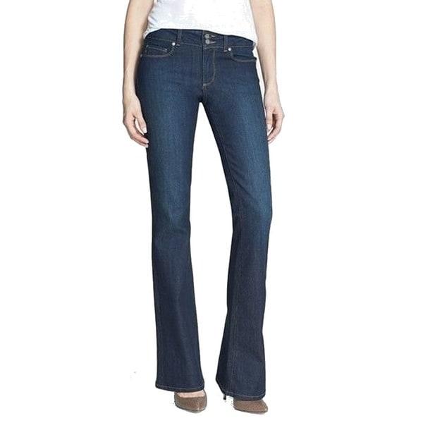 Paige NEW Dark Blue Women's Size 27X35 Boot Cut Hidden Hills Jeans