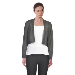 Calvin Klein Elbow Patch Long Sleeve Shrug Sweater (2 options available)