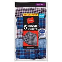 Hanes Boys Red Label Tartan Boxer - Size - XL - Color - Assorted Plaid - assorted plaid