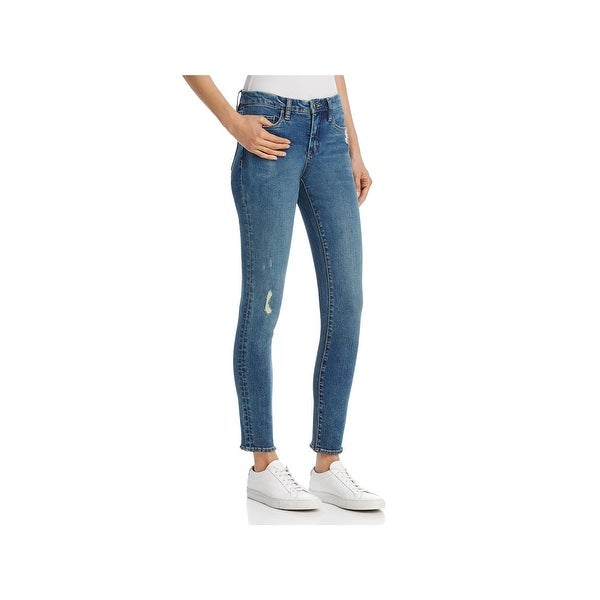 4331c22a82b Shop Blank NYC Womens Skinny Jeans Distressed Mid Rise - Free ...