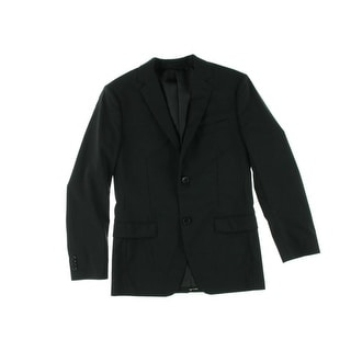 Theory Mens Wellar Virgin Wool Notch Collar Two-Button Suit Jacket