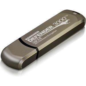Kanguru Kdf3000-4G Defender 3000 Secure Fips Hardware Encrypted Usb Flash Drive