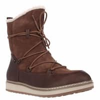 White Mountain Topaz Fleece Lined Snow Boots, Hazel
