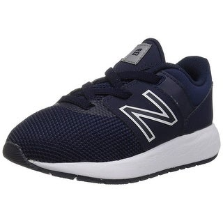Kids New Balance Girls KA24 Low Top Bungee Walking Shoes