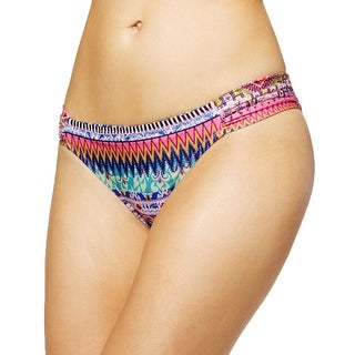 Jessica Simpson Womens Hipster Printed Swim Bottom Separates - XL