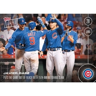 Chicago Cubs, Javier Baez MLB 2016 Topps NOW Card 191