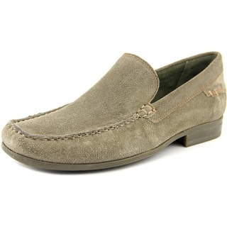 Hush Puppies Circuit Slip On Moc Toe Suede Loafer