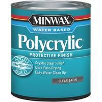 Minwax Int Satin W/B Polycrylic