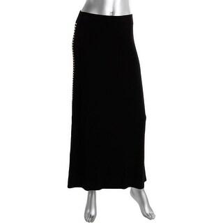 Michael Kors Womens Studded Casual Maxi Skirt
